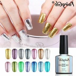 FairyGlo® 10ML Bling Gel Nail Polish Glitter UV Gel Varnish