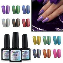 Elite99 10ML Holographic Rainbow Colorful Gel Nail Polish Ma