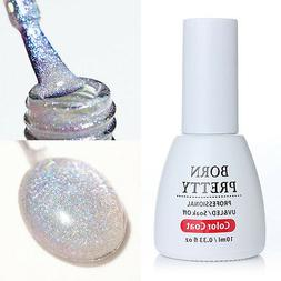 10ml Holographic UV Gel Nail Polish Manicure Soak Off BORN P