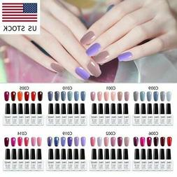 Elite99 15ML 4/6 Colors Nail Gel Polish Remover Wraps Gift S