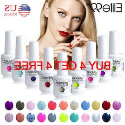 Elite99 15ML Color Gel Polish Nail Art Lacquer Manicure Top