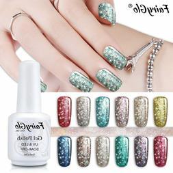 FairyGlo® 15ml Gel Nail Polish  Starry Bling UV Stamping Pa