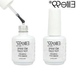 Elite99 15ml Soak Off No Wipe UV LED Shiny Gel Polish Nail A
