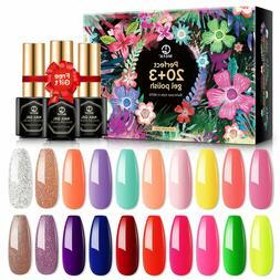 MEFA 23 Pcs Gel Nail Polish Set, Summer Collection Soak Off