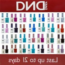 DND 400 - 640Daisy Soak Off Gel Polish Pick Your Color .5oz