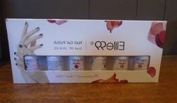 6 Color Gel Nail Polish Elite 99 Soak-off Gift Set Lot DIY U