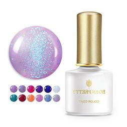 BORN PRETTY 6ml Rainbow Holographic UV LED Gel Soak Off Glit