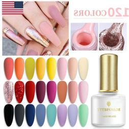 BORN PRETTY 6ml Soak Off UV Gel Nail Polish Rose Gold Glitte