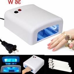 Pro Nail Polish Dryer Lamp 36W LED UV Gel Acrylic Curing Lig