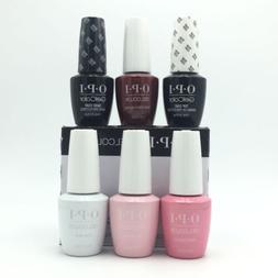 Brand New OPI GelColor Gel Polish Set of 6pc Lot