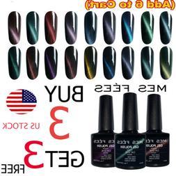 Cat Eye Magnetic UV Gel Polish Base Top Coat Soak Off LED Ma