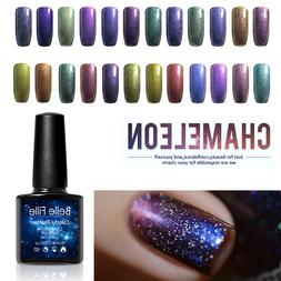 BELLE FILLE Chameleon Color Change Nail Art Gel Polish Soak-