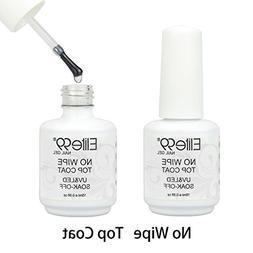 Elite99 No Clean Top Coat Shiny UV LED Soak Off Nail Gel Pol