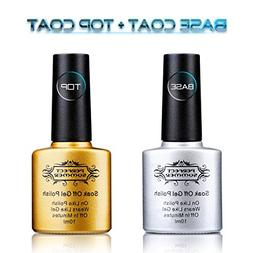 Perfect Summer Clear Base Coat And Top Coat Set - UV/LED Soa