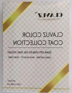 Clavuz Color Coat Collection, Soak Off UV & LED Gel Nail Pol