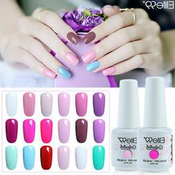 Elite99 Color Gel Nail Polish Top Base Varnish Soak Off Lacq