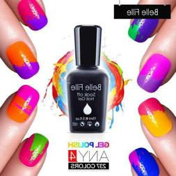 BELLE FILLE Colorful Nail Art Gel Polish Soak-off UV/LED Man