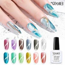 Elite99 Crystal Snowlight Cat Eye Gel Nail Polish Manicure M