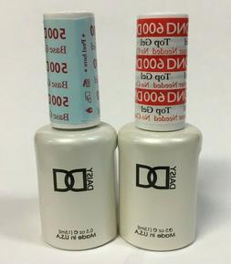 DND Daisy Soak Off Gel Polish Top Coat 600  Base Coat 500 LE