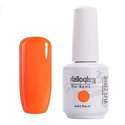 Arte Clavo Dark Orange Nail Gel Polish Harmless Resin Profes