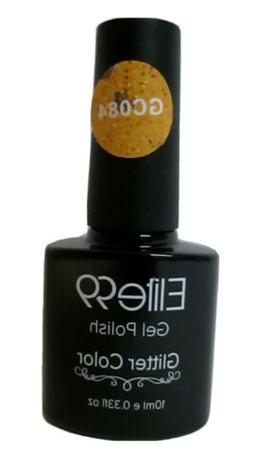 Elite99 Diamond GLITTER Color Soak Off UV LED Nail Gel Polis