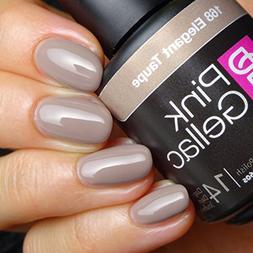 Pink Gellac #168 Elegant Taupe Soak-Off UV / LED Gel Polish