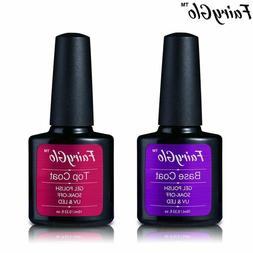 FairyGlo® Gel Nail 10ML UV Gel Nail Polish Top Base Coat So