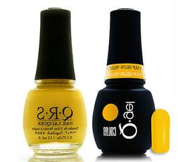 Gel & Polish QRS Beauty Combo MAT278 Yellow Tulip COMBO Neon