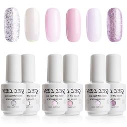 Gellen Gel Colors Nail Polish Set - Baby Pinks Series Pure A