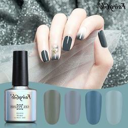 FairyGlo® Gel Nail 10ml Gray Series UV Gel Nail Polish Matt
