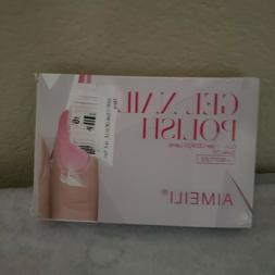 Aimeili Gel Nail and Polish- Pink...Peach....Bubble Gum....N