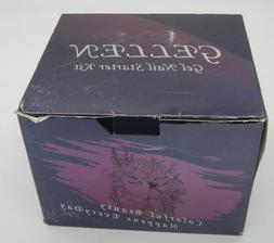 Gellen Gel Nail Polish Kit with UV Light 24W - 6 COLORS- Sta