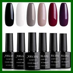 Gellen Gel Nail Polish Set Classic Elegance 6 Colors Popular