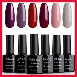 Gellen Gel Nail Polish Set Fashion Ladies Series RED PURPLE