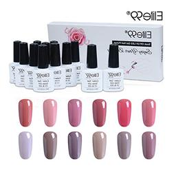Elite99 Gel Nail Polish Set Soak off UV LED Nail Art Manicur