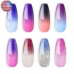 Sexy Mix Gel Nail Polish Set, UV Gel Color Changing