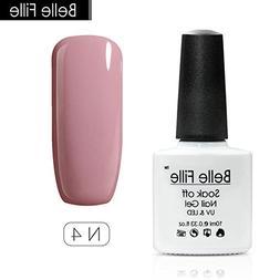 Belle Fille Gel Nail Polish UV LED Pure Color Polish Nail Ar
