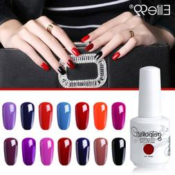 Elite99 Gel Polish Color Varnish Nail Art Soak Off Base Top