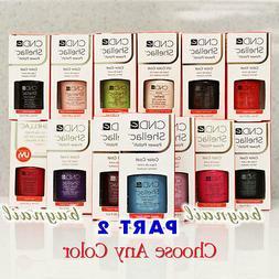 Gel Polish CND Shellac NEW Nail Colours 7.3ml 0.25 fl oz Par