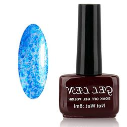 Gellen Gel Polish UV Gel Colors Nail Art 8ml 1Pc Brown Bottl