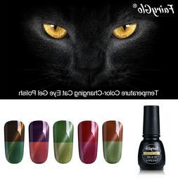 FairyGlo® Gel Varnish 7ml Cat Eye Gel Polish Temperature Co