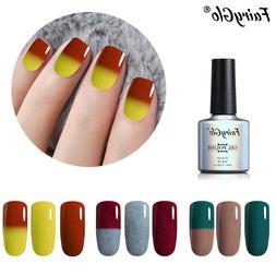 FairyGlo® Gel Varnish Temperature Color Changing Furcoat Ge