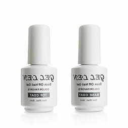 Gellen gel nails UV LED base coat and top coat set 8ml