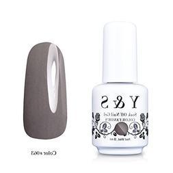 Y&S Gelpolish, Soak-off  Gray UV LED Nail Art/Beauty Care Ga