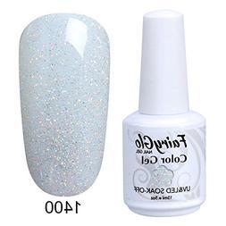 FairyGlo Gelpolish Long-lasting Gel Nail Polish Soak Off UV