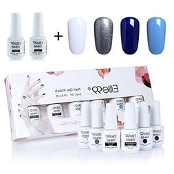 Elite99 Gel Polish Soak Off UV LED Gel Nail Polish with Top