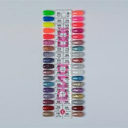 DND Glitter Gel Polish Lacquer Duo Soak Off LED/UV 0.5 fl oz