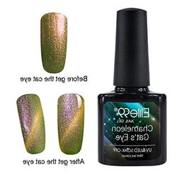 Elite99 Holographic Cat Eye Gel Nail Polish Soak Off UV LED