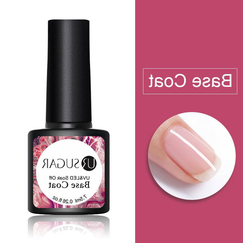 10 Combo UR SUGAR UV Nail with Base