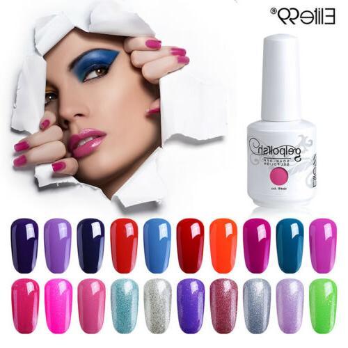 15ml gel nail polish soak off color